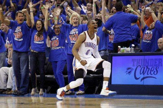 Westbrook is feeling it