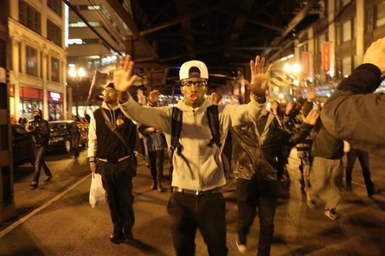 Photo credit: DNAinfo/Kelly Bauer -- Laquan McDonald Protests