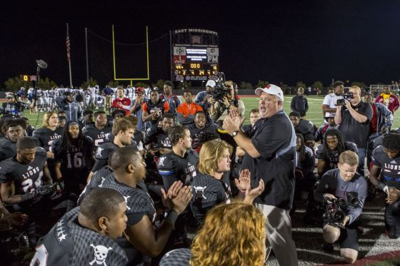 EMCC after a 33 point win. (Photo credit: Netflix)
